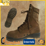 Coyote Color Suede Cow Leather Factory Price Military Tactical Desert Boot