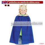 King Blue Robe Crown Childs Fancy Dress Kids Costume (C5024)