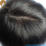 Natural Straight Indian Remy Human Hair Toupee