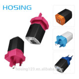 Newest Trend Popular Top Quality Private Label 5V 2.1A/3.1A Dual Port USB Travel Charger
