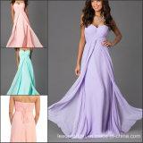 Strapless Cheap Bridesmaid Dresses Chiffon Bridal Party Prom Dress E13619