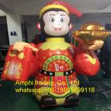 New Year Cartoon Model Type Inflatable Giant Monkey Model