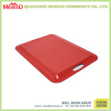Red Color with Cracker Design Melamine Tray