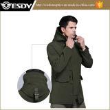 Outdoor Men′s Shark Skin Soft Shell Military Waterproof Sports Jackets