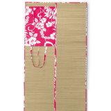Bamboo Sand Free Travel Mat Straw Folding Beach Mat Chair