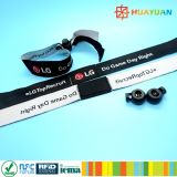 13.56MHz ISO14443A NTAG216 RFID woven music festival event NFC Wristband