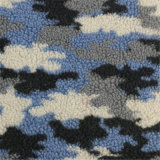 75%Polyester 25%Acrylic of Printed Multi Color Woolen Fabric