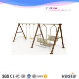 Vasia New Design Outdoor Fancy Galvanized Steel Metal Swing