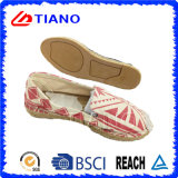 Fashion Flat and Comfortable Espadrilles Lady Shoes (TN36707)