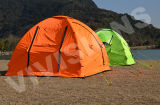 Waterproof 3-4 Person Double Layer Outdoor Camping Tent Inflatable
