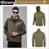 Tactical Men′s Ultra-Thin Breathable Sun Protection Army Jacket Climbing Clothing