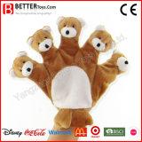 Kids/Children Gift Soft Plush Stuffed Animal Bear Hand Finger Puppet