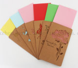 Custom Kraft Paper Bussiness Greeting Invitation Card with Envelope