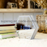 LED Mirror Rechargeable Alarm Clock