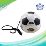 Outdoor Portable Mini Football Stereo Active Speaker with Lanyard