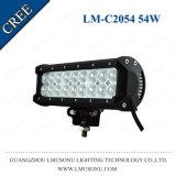 Lmusonu Hot Sale 9.5 Inch Double Row Straight CREE LED Driving Light Bar Light LED Bar 54W White Amber
