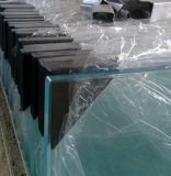 8mm Acid Etched Tempered Glass