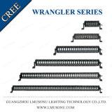Straight Jeep Wrangler Offroad LED Light Bar High Power CREE White Combo Beam 48W 96W 160W 240W 320W 384W 400W Waterproof IP67