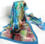 World Expo Silk Square Scarf