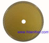 Turbo Wave Dry Cutting Disc Blade for Granite