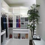 2016 Modern Style Home Furniture Wooden White Walk in Closet