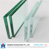 Flat Toughened/Tempered/Float Low Iron/Super/Ultra Clear Glass for Window