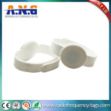 13.56MHz Waterproof RFID Wristbands, Reusable NFC Wristband for Baby
