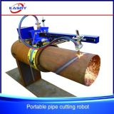 Large Diameter Portable Steel Pipe Flame Cutter Cutting Tool