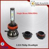 29W Single Beam 3000lm LED Headlight for Cars