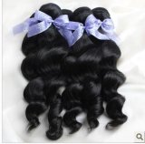 Unprocessed Natural Color Brazilian Virgin Remy Human Hair Extension Weaving/Weft