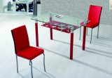 Tempered Glass Dining Table (JINBO)