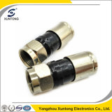 F Male Waterproof Compression Connector for Rg59/RG6/Rg11
