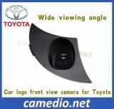 Wide Viewing Angle CCD Car Logo Front View Camera for Toyota Series