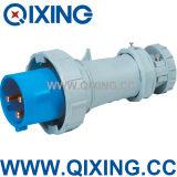 Cee 63A 3p Qixing European Standard Male Plug (QX1571)