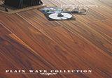 Plain Wave Acacia Handscraped Laminated Flooring