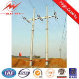6mm Round Tapered Steel Utility Poles