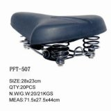 Bicycle Saddle High Quality Black Simple Seat (PFT-507)