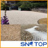White Permeable Gravel Stabilizer for Gravel Driveways