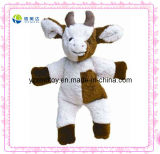 High Quality Handmade Plush Ox Soft Baby Toy