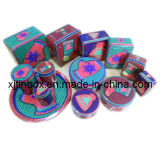 Custom Colorful Designs of Christmas Tin Box&Gift Tin Box& Christmas Tin Can, Gift Metal Items, Gift Tin Set