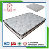 Queen Size Pillow Top Pocket Spring Mattress Compressed in a Pallet