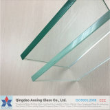 Flat Toughened Glass for Bulletproof Glass with Certification