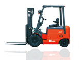 2 Ton Four Wheel Electric Forklift with CE