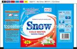 30g, 35g Sachet Bag Snow Brand Detergent Washing Powder for Africa Market