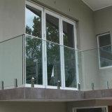 Mirror Satin Finish Frameless Pool Fence Glass Railing Spigot