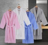 Promotional Hotel / Home Cotton Terry Bathrobe / Pajama / Nightwear with High Quality