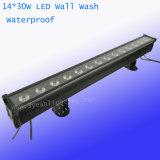 30W 14PCS RGBWA Waterproof Wall Washer Stage Lighting