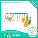 Playground Amusement Equipment Amusement Park Swing Set with Slide
