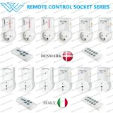 Demark/Itlay Smart Plug Remote Control Power Socket Danish Intelligent Power Socket