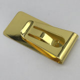 Wholesale Gold Plated Metal Steel Money Clip with Customized Logo
